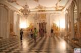 Neue Kammern Rokoko Marmorsaal Gold Muschel Ornamente Sanssouci Skulpturen Schloessernacht Beleuchtung Illumination Potsdam Schloss