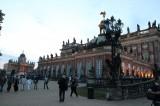 Neues Palais rampe zur Koenigswohnung Friedrich 2 Daemmerung Park Sanssouci XV Potsdamer Schlössernacht Potsdam
