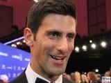 Novak Djokovic Gesicht face Kopf Laureus World Sports Awards Berlin Sport Oscar