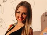Partrycja Kupka Miss Ostdeutschland 2017 Gesicht face Kopf Promi Jose Carreras Gala Hotel Estrell Berlin SAT.1GOLD Berichterstatter