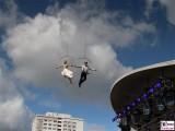 Performance Schwebende Eroeffnung IGA Garten Ausstellung Berlin Marzahn Hellersdorf Berichterstatter Trendjam