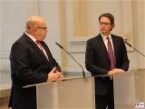 Peter Altmaier, Andreas Scheuer Pressekonferenz BMWi BMVI Wirtschaftsministerium Berlin Scharnhorststr Invalidenstr Berichterstattung TrendJam