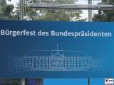 Plakat Buergerfest Schloss Bellevue Berlin Bundespraesident Park Ehrenamt