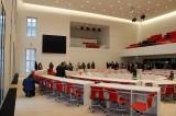 Plenarsaal Stadtschloss Potsdam neuer Landtag Brandenburg weisses Schloss r1