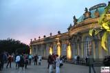 Potsdamer Himmel Daemmerung Schloss Sanssouci Terrasse Besucher Schloessernacht Potsdam Rokoko Berichterstatter