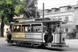 Potsdamer Straßenbahn Berliner Straße Lindner Triebwagen 1907 zweiachsiger Motorwagen