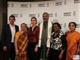 Preistraeger Henri Tiphagne Gesicht Face Kopf Gaeste Amnesty Deutschland Verleihung Menschenrechtspreis Maxim Gorki Theater Berlin
