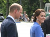 Prince William Duke of Cambridge, Catherine Duchess of Cambridge Ebertstrasse Berlin Berichterstatter