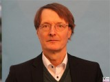 Karl Lauterbach Gesicht Promi SPD MDB Bundesparteitag Berlin CityCube Messe Berlin Berichterstattung TrendJam