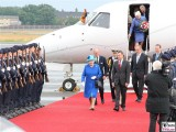 Queen Elizabeth II. TXL Tegel Flugzeug Königin des Vereinigten Königreichs Großbritannien und Nordirland Prinz Philip