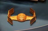 Raumschiff goldfarbe Filament 3D-Drucker IFA 2013 Berlin Funkausstellung Replikator