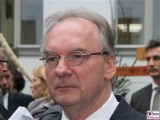 Reiner Haseloff Gesicht Kopf Promi Ministerpräsident des Landes Sachsen-Anhalt Kultursommernacht Vertretung des Landes Sachsen Anhalt beim Bund Berlin