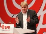 Reiner Hoffmann Gesicht Promi SPD Vorsitzender Deutscher Gewerkschaftsbund DGB Bundesparteitag Berlin CityCube Messe Berlin Berichterstattung TrendJam