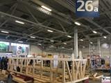 Restaurierung Fachwerk Trend bautec Messe Berlin Fachmesse Funkturm Bau Gebaeude Ausruestung Berichterstatter