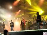 Revolverheld Buehnen show Fanmeile Brandenburger Tor Fest zum Tag der Deutschen Einheit Platz des 18 Maerz Berlin