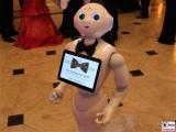 Roboter Pepper Gesicht face Kopf Presse Ball Berlin Hotel Maritim Stauffenbergstrasse Berichterstatter