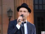 Roger Cicero Gesicht Promi singt Sinatra Classic Open Air Gendarmenmarkt