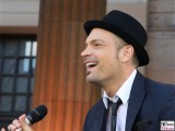 Roger Cicero links Promi Saenger Sinatra Classic Open Air Gendarmenmarkt