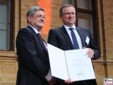 Roland Tichy, Holger Steltzner Verleihung Deutsche Telekom Hauptstadtrepräsentanz Ludwig-Ehrhard-Preis Wirtschaftspublizistik Berlin Berichterstatter