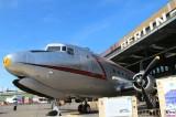 Rosinenbomber C-54 Skymaster TROOP CARRIER REG 5557 THF Tempelhof Denkmal 70 Jahre Luftbruecke Berlin Berichterstattung TrendJam