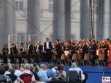 Rotterdam Philharmonic Orchestra Vorabend Konzert Buehne Neues Palais Communs Mopke Buehne Zuschauer Schloessernacht Potsdam Schlosspark