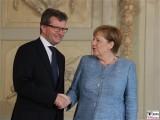 S.E. Jean Graff Gesicht Botschafter Grossherzogtum Luxemburg in Deutschland Diplomatisches Corps Empfang Meseberg Berichterstattung