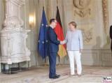 S.E. Sir Sebastian Wood Vereinigtes Koenigreich GB Irland Diplomatisches Corps Schloss Meseberg Gartensaal Berichterstatter
