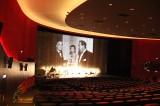 Saal1 Leinwand Vorhang Eröffnung Kino ZOO Palast Berlin Bikini Bayerische Hausbau