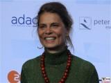 Sarah Wiener Gesicht face Kopf Produzentenfest Produzentenallianz Regen Kongresshalle Hutschachtel WestBerlin Berichterstatter
