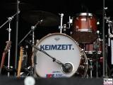 Schlagzeug Buehne Keimzeit Kling Klang Stadtwerke-Fest Neuer Lustgarten Potsdam Brandenburg