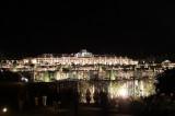 Schloss Sans souci Terrassen nachts Park Sanssouci XV Potsdamer Schloessernacht Potsdam