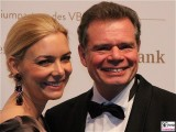 Sibylle Pflueger, Friedbert Pflueger Gesicht face Kopf VBKI Ball der Wirtschaft Hotel Intercontinental Berlin