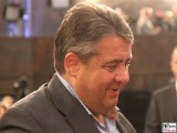 Sigmar Gabriel Gesicht face Kopf Promi BM Programmkonferenz Europa SPD Berlin Gasometer Berichterstatter