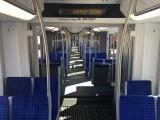 Sitze S-Bahn Berlin InnoTrans Prototyp innen 484 002 A-D Stadler Siemens Messe Berlin Berichterstattung Trendjam