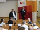 Stefan Koldehoff, Ortrud Westheider, Michael Philipp Impressionismus Diskussion Symposium Museum Barberini Hasso Plattner Institut Uni Potsdam
