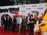 Stimmen deutsch ANGRY BIRDS - DER FILM Sprecher Deutschland Premiere Kinostart Sony Center Berlin Mitte Potsdamer Platz AngryBirdsFilm SonyPictures