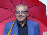 Stumpi, Wolfgang Stumph Gesicht face Kopf Produzentenfest Produzentenallianz Regen Kongresshalle Hutschachtel WestBerlin Berichterstatter