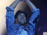 Sven Lauer Gesicht gesang face Kopf Fanmeile Brandenburger Tor Fest zum Tag der Deutschen Einheit Platz des 18 Maerz Berlin