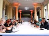 Tagung Orangerie M100 Sanssouci Colloquium 70. Jahrestag Potsdamer Abkommen Landeshauptstadt Potsdam