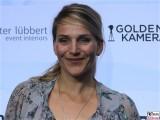 Tanja Wedhorn Gesicht face Kopf Produzentenfest Produzentenallianz Regen Kongresshalle Hutschachtel WestBerlin Berichterstatter