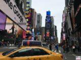 Taxi Time Square New York, 7. Av