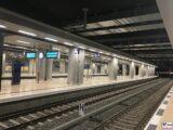 Terminal 1 Bahnsteige 1-4 Bahnhof BER