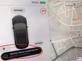 Tesla-Model-3-Ereignis Anzeige Bildschirm-PresseFoto-Elektromobilitaet-Berichterstattung