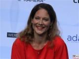 Tessa Mittelstaedt Gesicht face Kopf Produzentenfest Produzentenallianz Regen Kongresshalle Hutschachtel WestBerlin Berichterstatter