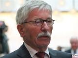 Thilo Sarrazin Gesicht face Kopf Portrait Deutsche Telekom Hauptstadtrepräsentanz Ludwig-Ehrhard-Preis Wirtschaftspublizistik Berlin Berichterstatter