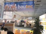Treffpunkt bautec Messe Berlin Fachmesse Funkturm Bau Gebaeude Ausruestung Berichterstatter