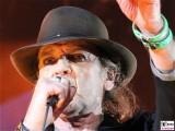 Udo Lindenberg Gesicht Promi face gruenes Armband PanikRocker OlympiaStadion Tour Arena Berlin