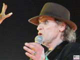 Udo Lindenberg Gesicht links Promi PanikRocker Olympia StadionTour Arena Berlin