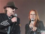 Udo Lindenberg, Stefanie Heinzmann Gesicht Promi Panik Rock Olympia StadionTour Arena Berlin