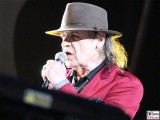 Udo-Lindenberg-links singt ohne Brille rote Jacke singt-Promi-Panik-Rocker-Waldbuehne-Arena-Berlin-Berichterstatter